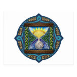 Celtic Hourglass Postcards