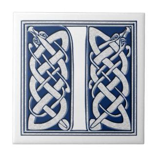 Celtic I Monogram Tile