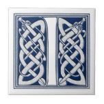 Celtic I Monogram Tiles