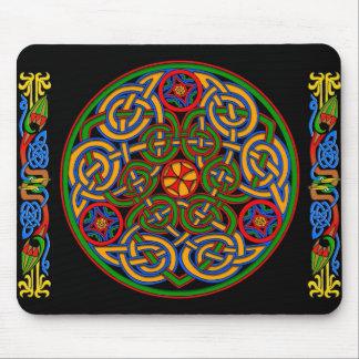 Celtic IIlumination - Trinity Circle Mousepads