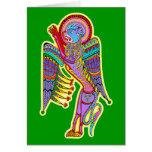 Celtic Illumination - Lamassu Greeting Card