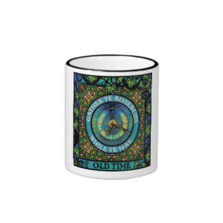 Celtic Impermanence Ringer Coffee Mug