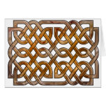 celtic interlaced  knotwork card