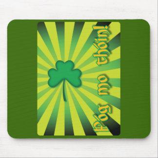 Celtic Irish Grunge Design - Mouse Pad