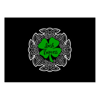 Celtic Irish Princess Large Business Cards (Pack Of 100)