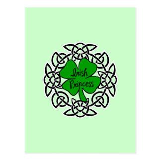 Celtic Irish Princess Postcard