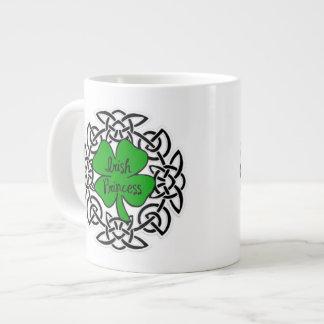 Celtic Irish Princess 20 Oz Large Ceramic Coffee Mug