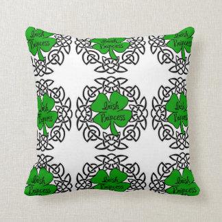 Celtic Irish Princess Throw Pillow