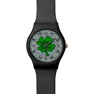 Celtic Irish Princess Wrist Watch