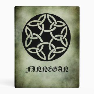 Celtic Irish sacred symbols monthly date planner Mini Binder