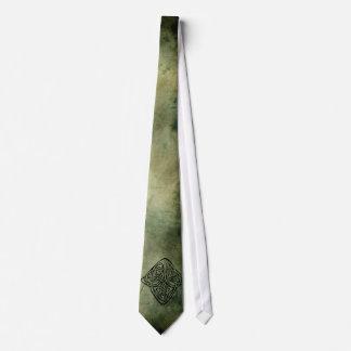 celtic irish sacred symbols neck tie