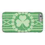 Celtic irlandés del trébol funda de iPhone 6 barely there