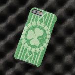 Celtic irlandés del trébol funda de iPhone 6 tough