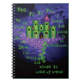 Celtic Jack and the Beanstalk in Green Notebook