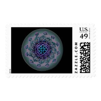 Celtic Jewel Fractal Mandala Stamp