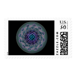 Celtic Jewel Fractal Mandala Stamp