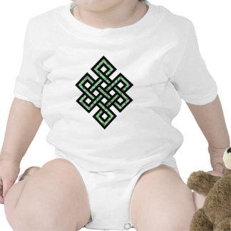 Celtic Knot 10 Green Tshirt