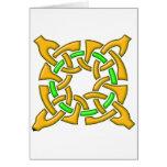 Celtic Knot 13 Gold Cards
