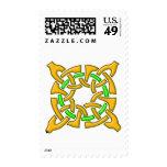 Celtic Knot 13 Gold Stamp