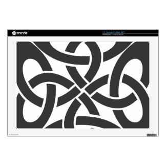 """Celtic Knot 17"""" Laptop Decals"""