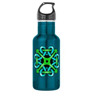 Celtic Knot 18 oz. Electric Blue 18oz Water Bottle