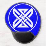 Celtic Knot 1 Blue Gel Mouse Pad