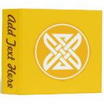 Celtic Knot 1 Gold Binder