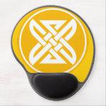 Celtic Knot 1 Gold Gel Mouse Pad