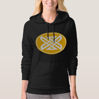 Celtic Knot 1 Gold Hoodie