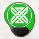 Celtic Knot 1 Green Gel Mouse Pad