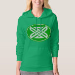 Celtic Knot 1 Green Hoodie