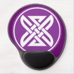 Celtic Knot 1 Purple Gel Mouse Pad