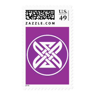 Celtic Knot 1 Purple Stamps