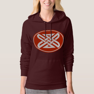 Celtic Knot 1 Red Hoodie