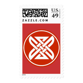 Celtic Knot 1 Red Stamp