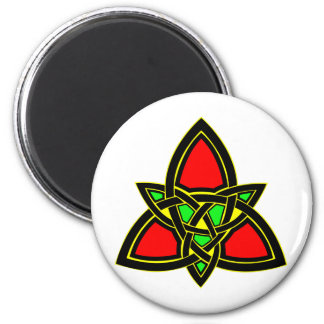 Celtic Knot  #3011 2 Inch Round Magnet
