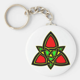 Celtic Knot  #3011 Basic Round Button Keychain
