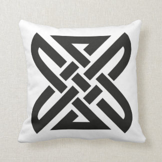 Celtic Knot 4-point Throw Pillow