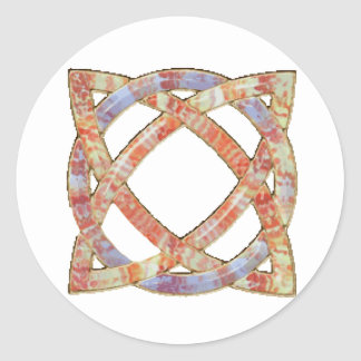 Celtic Knot 8 Stickers