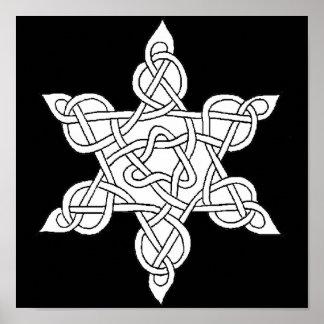 Celtic Knot 9 Poster