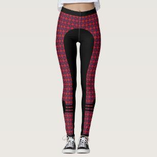 ab456033c49 Celtic Knot and Black Heart - Red Leggings
