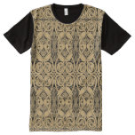 Celtic Knot Animals Lindisfarne Pattern All-Over-Print Shirt