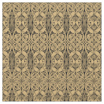 Celtic Knot Animals Lindisfarne Pattern Fabric