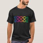 Celtic Knot Band Rainbow Gay Pride T-Shirt