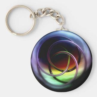 Celtic Knot Basic Round Button Keychain
