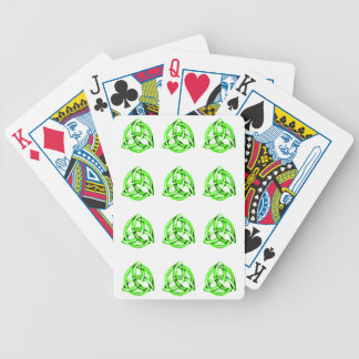 Celtic Knot Bicycle Playing Cards