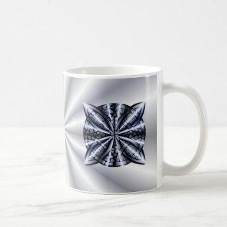 Celtic Knot Blue Metallic Coffee Mug