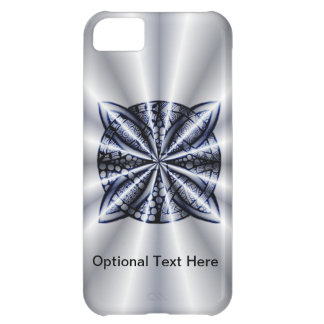 Celtic Knot Blue Tangled Doodle Design iPhone 5C Cover