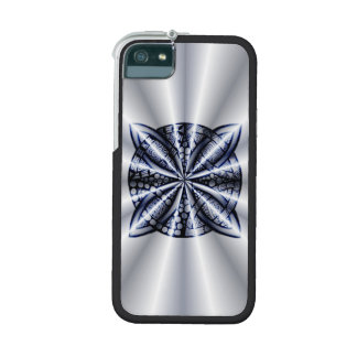 Celtic Knot Blue Zentangle Inspired Design Cover For iPhone 5/5S