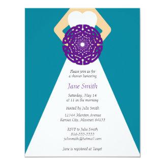 Celtic Knot Bridal Shower Invitation